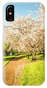 Cherry Blossom Lane IPhone Case