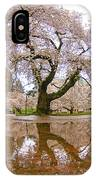 Cherry Blossom Reflection IPhone Case