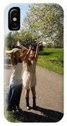 Cherry Blossom Toss IPhone Case