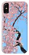 Cherry Blossom Trilogy IIi IPhone Case