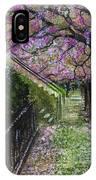 Cherry Blossom Walk IPhone X Case