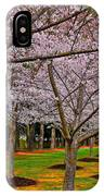 Cherry Blossoms At The Beach IPhone Case
