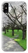 Cherry Blossoms In Stanley Park Vancouver IPhone Case