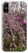 Cherry Blossoms In Yoshino- 2 IPhone Case