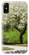 Cherry Tree In Full Bloom IPhone Case