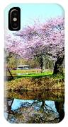 Cherry Trees In The Park IPhone Case