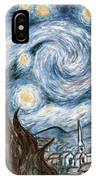 Cher's Stary Night IPhone Case