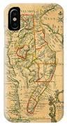 Chesapeake Bay 1786 IPhone Case