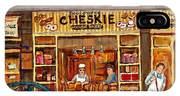 Cheskies Hamishe Bakery IPhone Case