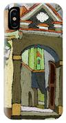 Chesky Krumlov Old Street Latran  IPhone Case