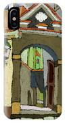 Chesky Krumlov Old Street Latran  IPhone Case