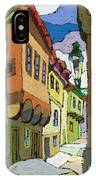 Chesky Krumlov Street Nove Mesto IPhone Case