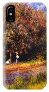 Chestnut Tree Blooming 1881 IPhone Case