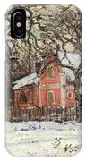 Chestnut Trees At Louveciennes IPhone Case