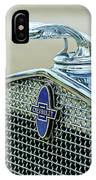 Chevrolet Hood Ornament IPhone Case