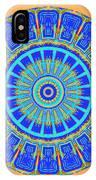 Chevrons Mandala IPhone Case