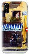 Chez Paul IPhone Case