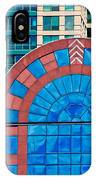 Chicago Place On N. Michigan Ave IPhone Case