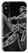 Chicago Art Institute Armored Knight And Horse Bw Pa 02 IPhone Case