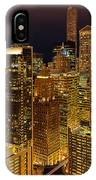 Chicago At Night IPhone Case