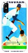Chicago Cubs 1970 Program IPhone Case