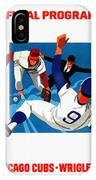 Chicago Cubs 1974 Program IPhone Case