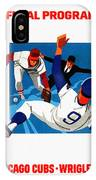 Chicago Cubs 1974 Program IPhone Case