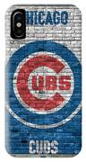 Chicago Cubs Brick Wall IPhone X Case