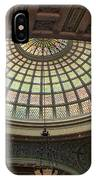 Chicago Cultural Center Tiffany Dome 01 IPhone Case