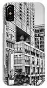 Chicago In Black And White IPhone Case
