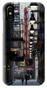 Chicago Loop, Goodman Theater Marguee IPhone Case