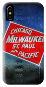 Chicago Milwaukee St. Paul And Pacific IPhone Case