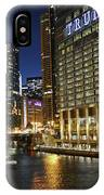 Chicago Night Lights IPhone Case