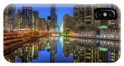 Chicago River East IPhone X Case