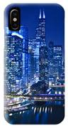 Chicago River Panorama IPhone Case