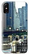 Chicago River Walk Invites You IPhone Case