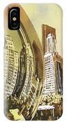 Chicago Skyline IPhone Case