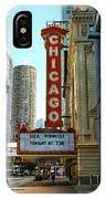 Chicago Theater - 1 IPhone Case