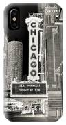 Chicago Theater - 2 IPhone Case