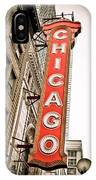 Chicago Theater Sign Marquee IPhone Case