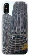 Chicago Twin Corn Cob Building  IPhone Case