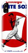 Chicago White Sox 1960 Scorebook IPhone Case