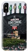 Chicago White Sox Home Coming Weekend Scoreboard IPhone Case