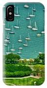 Chicago's Dusable Harbor  IPhone Case