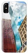 Chicago's South Wabash Avenue  IPhone Case