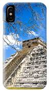 Chichen Itza And Tree IPhone Case