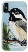Chickadee IPhone X Case