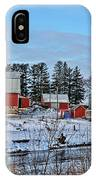 Chickasaw Winter IPhone Case