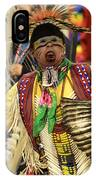 Pow Wow Chicken Dancer IPhone Case