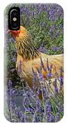 Chicken In The Lavender IPhone Case